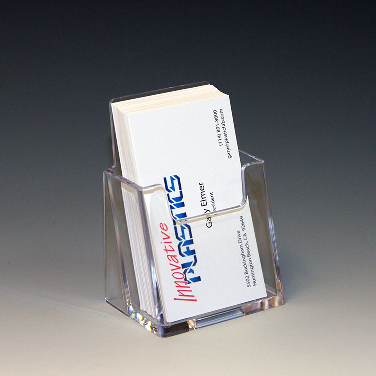 Plastic Business Card Holders | Business Card Displays by ...
