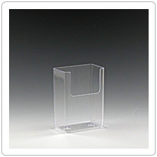 Small Plastic Brochure Holder BPS-213
