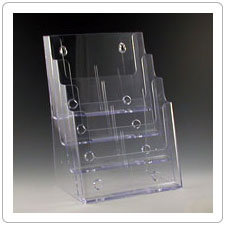 Four Pocket Plastic Brochure Holder TK85-4